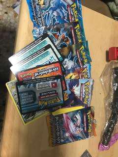 Pokemon TCG packs