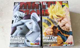 [BN] Dragonball dragon ball Son Goku Gokou AND Frieza FREEZA final form full power MATCH MAKERS