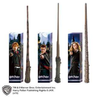 LAST PC - OFFICIAL HARRY POTTER WAND - LIGHTS UP - JAPAN ONLY
