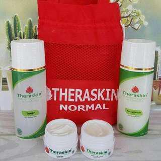 Theraskin skincare paket normal flek acne