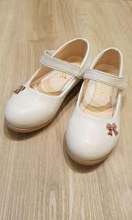 White Color Walking Shoes for Girls