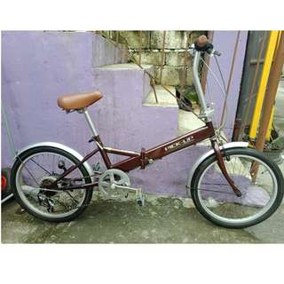PICK-UP FOLDING BIKE (FREE DELIVERY AND NEGOTIABLE!)
