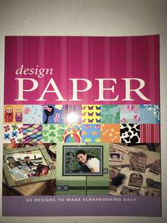 design paper book