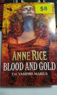 Annie Rice - Blood and Gold the vampire marius