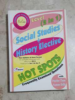 Hot Spot O Level Social Studies & History Elective Assessment Book