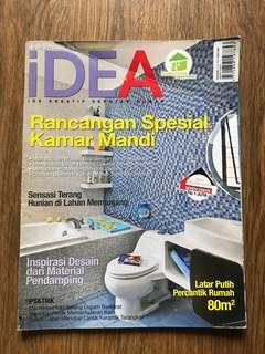 IDEA - rancangan spesial kamar mandi