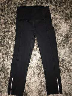 Lululemon fast and free tights size 2
