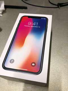 iPhone X 256GB 太空灰 99% New