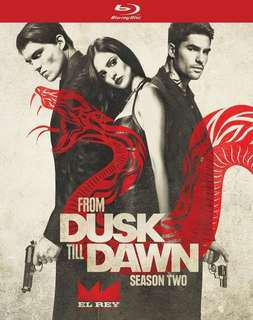 From Dusk Till Dawn Season 2 Bluray with slipcase