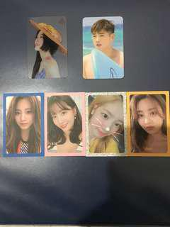 WTT: Red Velvet, KARD and TWICE Photocards