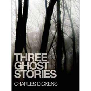 Ebook Three Ghost Stories by Charles Dickens
