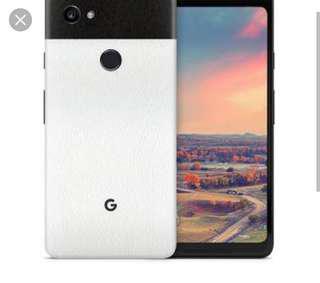Google Pixel 2 XL Local Singtel panda color set full box