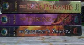 The Kane Chronicles by Rick Riordan