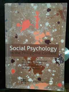 Social Psychology: In the Philippine Context