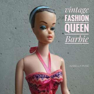 Vintage Midge Barbie Fashion Queen from the 60s