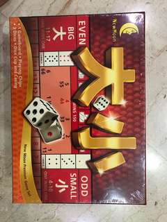 Even Odd Big Small ( Da Xiao) game set