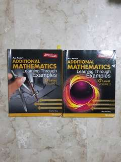All About Additional Math Books