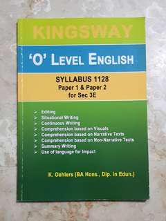 Kingsway O Level English Workbook
