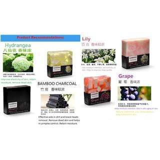 Handmade aromatic fragrance soap