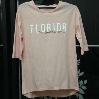 #list4sb PEACH T-SHIRT