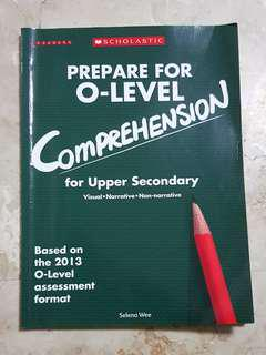 Scholastic O Level Enish Comprehension Assessment Book