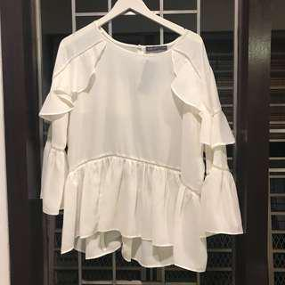 Marks and Spencer White Blouse