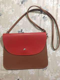 Envelope Leather Bag