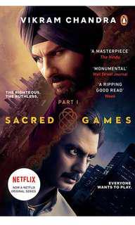 🚚 Sacred Games: (Netflix) part 1 by Vikram Chandra