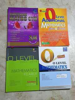 Math Assessment Books