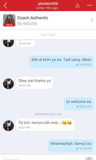 Testimonial from lovely customer ❤️❤️