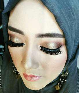 Makeup + hairdo+hijab
