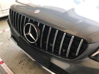 GLC250 SUV & COUPE GTS front grill