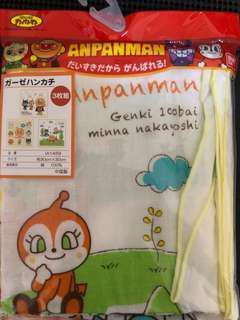 全新anpanman紗巾(3條)