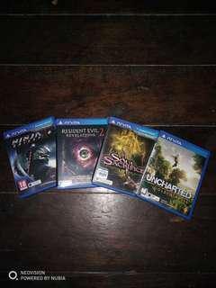 Ps vita game for sell (used) (rare)