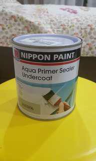 BN 1L tin of Nippon Aqua Primer Sealer Undercoat