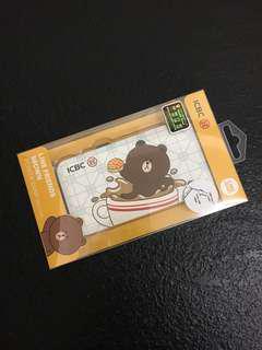 Line brown 熊大 充電 尿袋 充電器