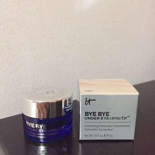 BNIB Its Cosmetics Bye Bye Undereye Corrector