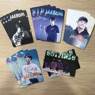 GOT7 fanpack photocards!!