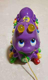 [Pre-Owned] Leapfrog Alphabet Pal Caterpillar music toy | purple