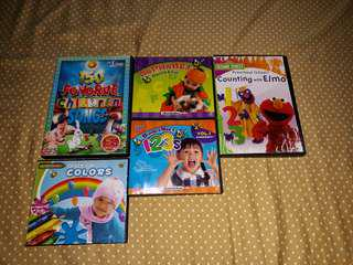 Baby Educational Shows CD and DVD
