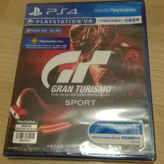 *Brand new sealed* PS4 R3 Gran Turismo Sport