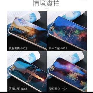 (全新現貨)IPhone6s 5.5吋手機殼 《3號》《藍光電鍍》