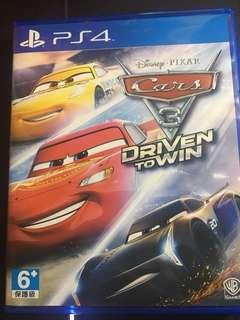 PS4 反斗車王3 全力爭勝 Cars 3: Driven To Win 中英文版