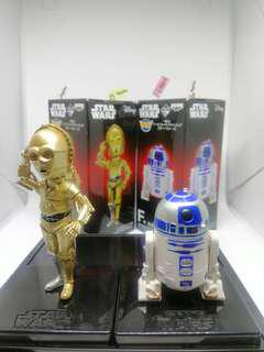 (set of 2) WCF Star Wars C-3PO & R2-D2 figures (original)