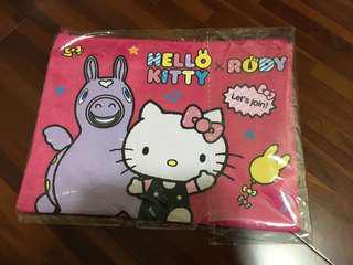 Kitty雙拉鍊資料袋