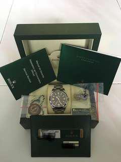 🚚 (COMPLETE SET) Mint Rolex Explorer I 1 214270 39mm No Date