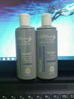 Adeeva facial wash+toner (acne)