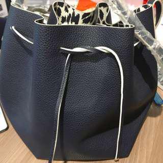 Last Piece Special offer! Estee Lauder Fisherman Bag - Dark Blue