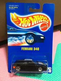 Hotwheels Ferrari 348 Black