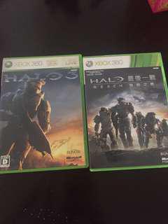 Halo reach and Halo 3